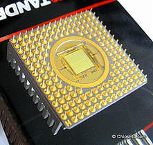 gold risc processor chip
