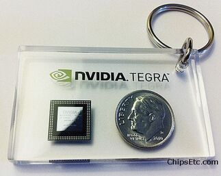 Nvidia tegra mobile processor chip
