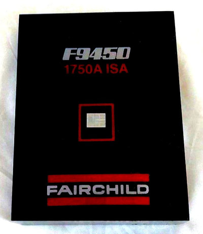 Fairchild computer chip paperweight