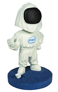 Intel Bunnyperson collectible Bobblehead