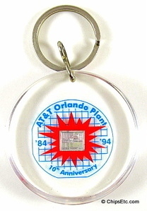 AT&T chip keychain