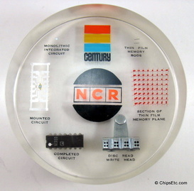 NCR Computer paperweight