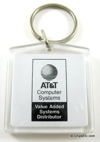 AT&T computer systems keychain