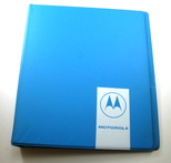 image of Motorola manual binder