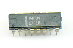 image of an Intel 4004 microprocessor
