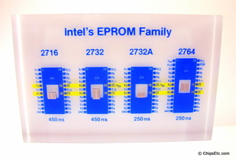 Intel eprom paperweight