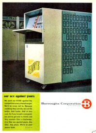 Burroughs B200 Computer Ad from 1964