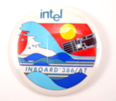 image of an Intel inboard 386/AT button