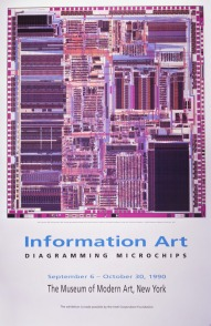 Computer Chips MOMA poster