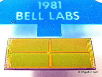 image of a Bell Labs RAM memory chip