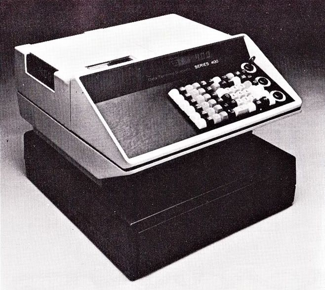 dts data terminal systems early electronic cash register 1970s