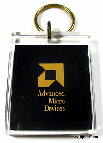 AMD 486 CPU keychain