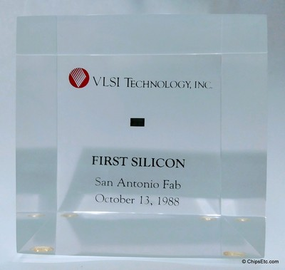 VLSI integrated Circuit chip paperweight