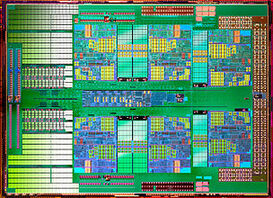 AMD Opteron 6 Core Processor Die